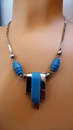 Jakob Bengel modernist necklace
