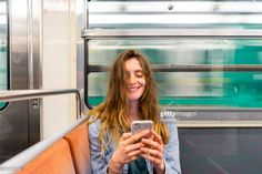 View top-quality stock photos of Portrait Of Smiling Young Woman In Underground Train Looking At Smartphone. Find premium, high-resolution stock photography at Getty Images. Mullet Hairstyle, Prom Hair, Young Women, Salsa, Hair Beauty, Stock Photos, Hair Styles, Instagram, Photography