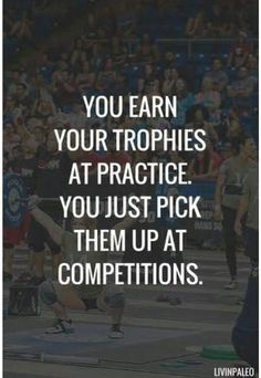 Short Inspirational Quotes about Life and Struggles You earn your trophies at practice. You just pick them up at competitions.You earn your trophies at practice. You just pick them up at competitions. Cheer Quotes, Sport Quotes, Motivational Quotes For Life, Positive Quotes, Life Quotes, Inspirational Quotes, Quotes About Sports, Sports Sayings, Cheerleading Quotes