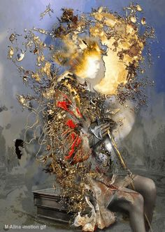 Some energy will never be lost by whornung on DeviantArt Amazing Gifs, Amazing Nature, Gif Bonito, Beautiful Dark Art, Renaissance Paintings, Assemblage Art, Visionary Art, Weird Art, Fantastic Art