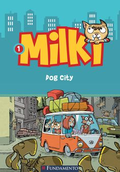 Dog City. Livro 01 - Série Milki. http://editorafundamento.com.br/index.php/milki-01-dog-city.html