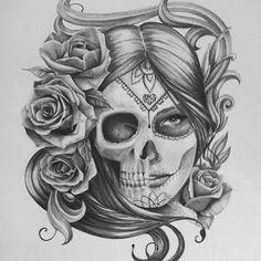 Metal Mulisha Maiden. Artist Breaking Armenta.