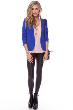 I have to have this blue blazer