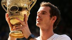 Andy Murray, Wimbledon Champion 2013 -Getty Images