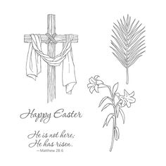 Stampin' Up! Clear Stamp Set - Easter Message (142987)
