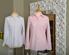 Compared to normal business blouses, the DOLLIS blouse has some additional centimeter to ensure that the blouse stays within the business wear during a hectic day with lots of movements. Business Wear, Business Fashion, Blouse Styles, Blouses, Blazer, Jeans, How To Wear, Tops, Women