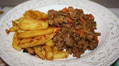 Seit langem habe ich heute mal wieder etwas mit Kartoffeln gekocht und zwar selbstgemachte Kartoffelecken aus dem Ofen - die gab es schon d...