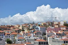 Daily perspectives: The clouds over Lisbon