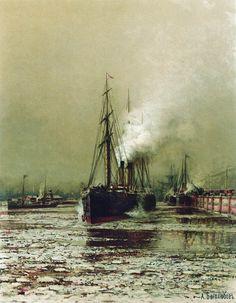 Морской канал в Петербурге - Боголюбов Алексей Петрович