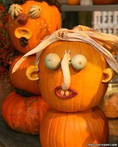 Outdoor Halloween Decor | Pumpkin-Patch Creatures