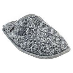 Men's Muk Luks Gavin Slide Slippers - Gray M, Size: Medium, Grey