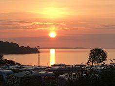 solopgang på Sandskaer Strandcamping. Love it!