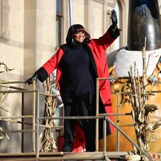 The annual Macy's Thanksgiving Day Parade in New York City - November Patti LaBelle rides in the Annual Macy's Thanksgiving Day Parade on November 2017 in New York City. (Photo by Dia Dipasupil/Getty Images) Macys Thanksgiving Parade, Soul Artists, Legendary Singers, New York City, Nyc, November 23, City Photo, Diva, American