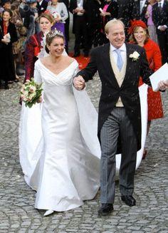 Prince Carlos, Duke of Parma and Annemarie van Weezel, November 20, 2010
