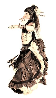 """American Tribal Belly Dancer 