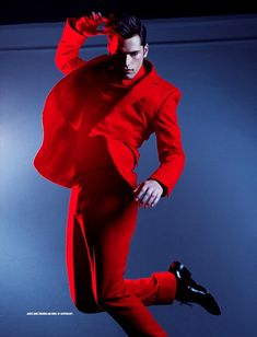 Impressive Sean–Leading model Sean O'Pry lands DSection's latest issue cover story, looking sharp and charming in refined looks, lensed by Arnaldo Anaya-Lucca. Styled by Joseph Episcopo in pieces from the likes of Versace, Gucci and Givenchy, Sean enchants in fire-red numbers, alternated with precious metallic hues.