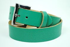 Turquoise Distressed Leather