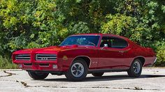1969 Pontiac GTO Judge 400/366 HP, 4-Speed presented as lot S200 at Schaumburg, IL 2015 - image1