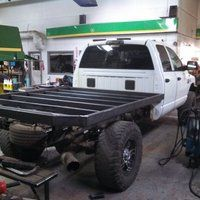 Photo: Uploaded from the Photobucket Android App. This Photo was uploaded by himarker Truck Flatbeds, Truck Mods, Custom Truck Beds, Custom Trucks, Flatbeds For Pickups, Bed Liner, Flat Bed, Toyota Trucks, Monster Trucks