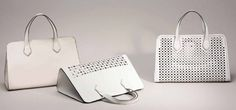 Borse Coccinelle Primavera Estate 2014 - #bag #laser #white