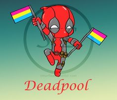 My deadpool pansexual pride shirt I designed... - Set Phasers To Sexy