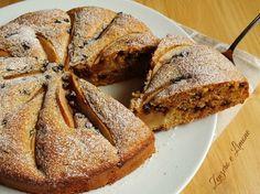 La torta integrale cioccolato e pere è un dolce leggero, ideale per la colazione. Non contiene burro ed è squisita, delicata e morbidissima.