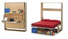 Muebles pegables para departamentos