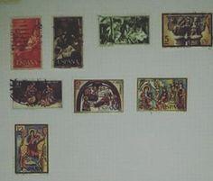 Selos de Espanha #presepiosjj #presepios #coleção