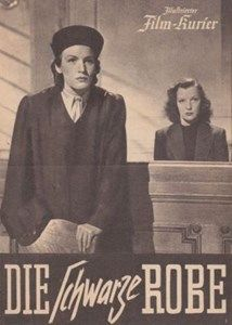 Lotte Koch and Kirsten Heiberg in the film The black Robe, 1944 Film, Baseball Cards, Movies, Movie Posters, Movie, Film Stock, Films, Film Poster, Cinema