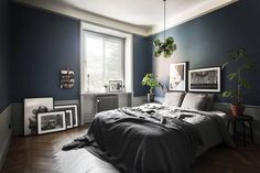 Stylish, Dark and Moody Stockholm Apartment - NordicDesign