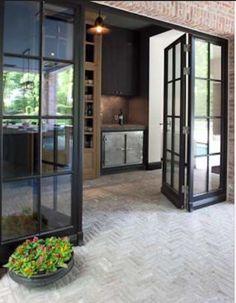 schlanke stahl glas t r doors in 2018 pinterest glas haus und stahl. Black Bedroom Furniture Sets. Home Design Ideas