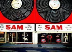 Sam the Record Man in Toronto