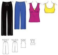 Resultado de imagen para sports bra sewing pattern