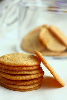 Sitkeät sitruunaiset keksit - Suklaapossu No Bake Cookies, Baking Cookies, Pancakes, Breakfast, Sweet, Food, Drinks, Inspiration, Morning Coffee