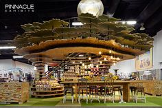 We built this trade-show booth for Naturespath organic foods