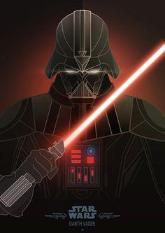 ArtStation - Villains - Darth Vader, Jonathan Lam & Petros Afshar
