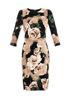 Fitted dress by Dolce & Gabbana...wish I didn't have such expensive taste.