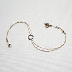 Gold Filled Bracelet Fine Jewelry Bracelet by BelleAtelierJewelry, $42.00 For the minimalist...