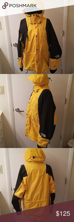 The North Face - Gore-Tex Jacket - Yellow The North Face - Gore-Tex Jacket, yellow and black. Used, in good condition. Name written in the inside tags and inside label.  No low ball offers please. The North Face Jackets & Coats Performance Jackets