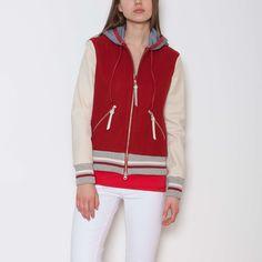 Women's Alex Hoody Melton And Fleece | Women's Tops Leather Jackets | Roots