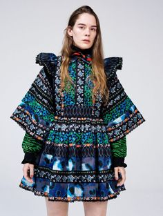 This incredible collaboration between Kenzo & H&M has been revealed with an amazing look book. The collection is a pattern explosion with multicolour animal prints, folk influences, bold patterns and much more. The final collection will be available in H&M stores at the start of November. We absolutely love it, go check out the full look book over at Vogue.