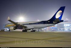 Jet Airways Airbus A330-202 VT-JWM 923 Delhi Indira Gandhi Int'l Airport - VIDP