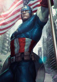 """""""Captain America"""" Stanley Lau"""