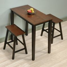Isla 3 Piece Counter Height Dining Set With Storage, Espresso. Also Really  Really Cool!   Want   Pinterest   Espresso, Dining And Storage
