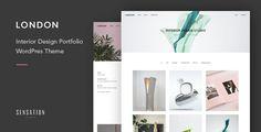 London - Minimalist Contemporary Portfolio WordPress Theme - Portfolio Creative