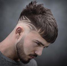 Hairstyles Men Undercut Hair Designs New Ideas Cool Mens Haircuts, Cool Hairstyles For Men, Popular Haircuts, Elegant Hairstyles, Undercut Hairstyles, Hairstyles Haircuts, Men Undercut, Haare Tattoo Designs, Medium Hair Styles