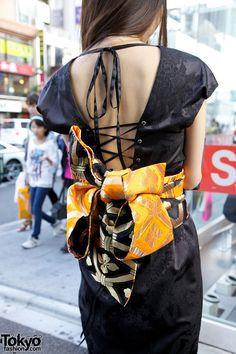 in Harajuku Japanese Kimono Inspired Dress – Tokyo Fashion News (in purple) Tokyo Fashion, Harajuku Fashion, Fashion News, Fashion Outfits, Womens Fashion, Boho Kimono, Kimono Fashion, Japanese Outfits, Japanese Fashion