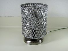 Made with Soda tabs, I could come up with the supplies pretty quickly.