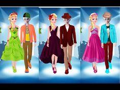 Juegos de Frozen: Elsa Y Jack Evento De Moda
