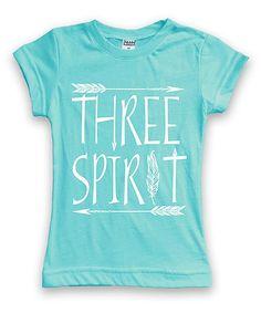 Aqua Three Spirit Tee